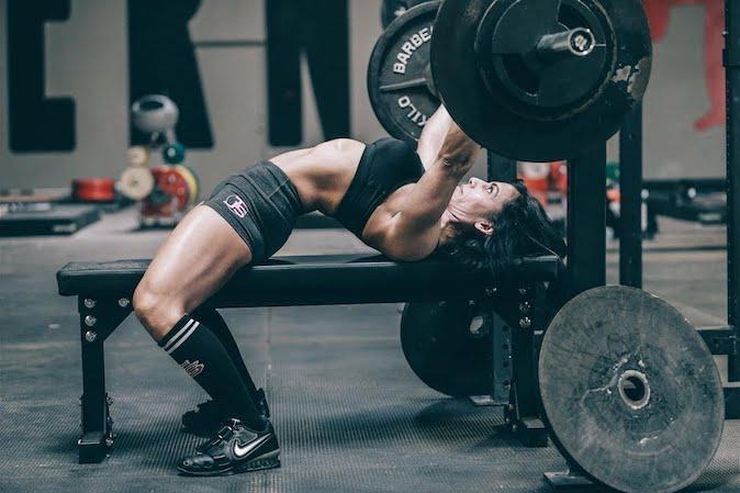 Grado de esfuerzo y ganancias de masa muscular - press de banca