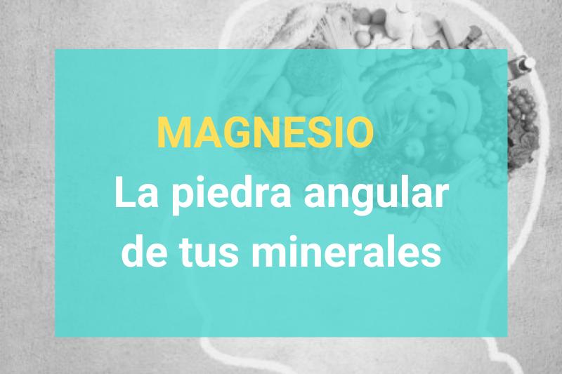 Magnesio - La piedra angular de tus minerales