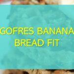 Gofres banana bread fit