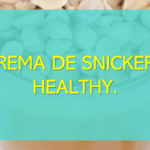 Crema de Snickers Healthy