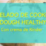 helado cookie dough healthy