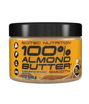 100% Almond Butter Smooth - (500 g) - Scitec Nutrition