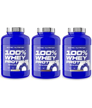 100% Whey Protein - (2,35 Kg) - Scitec Nutrition