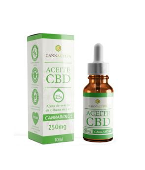 Aceite CBD 2.5% 10 ml - Cannactiva