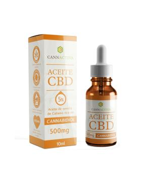 Aceite CBD 5% 10 ml - Cannactiva