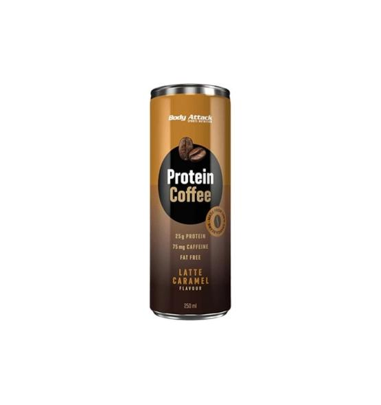 Body Attack Protein Coffe Caramel 250 ml