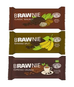 Brownie Crudivegano BIO - (45 g) - Simply RAW