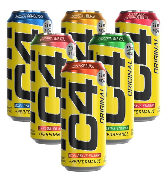 Cellucor C4 Carbonated - (473ml)