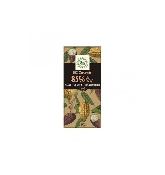 Chocolate 85% BIO 70g - Sol natural