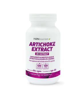 EXTRACTO DE ALCACHOFA (20:1) 500mg 120 VEG CAPS - HSN SPORTS