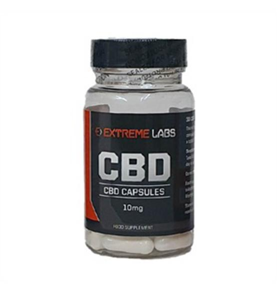 Extreme Labs CBD 10mg - (30 Caps.) - Applied Nutrition