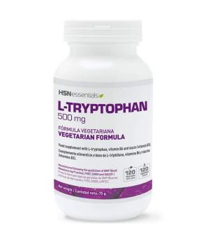 L-TRIPTÓFANO 500 MG 120 CAPS - HSN SPORTS