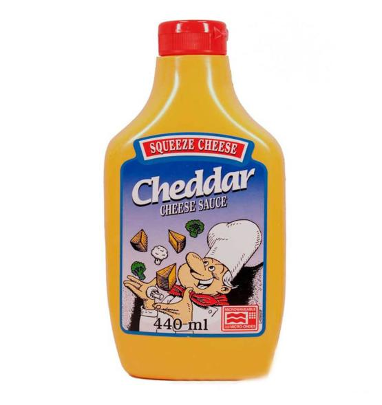 Nachos Cheese - (440 ml) - Squeeze