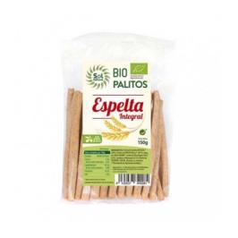 Palitos de espelta integral BIO 150g - Sol natural