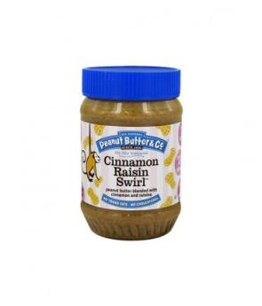 Peanut Butter & Co PB & cinnamon raisins 454g
