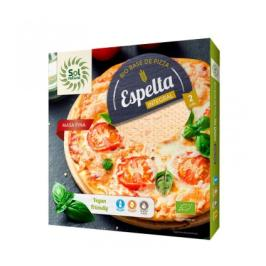 Pizza de espelta integral bio 2x150 g - Sol natural