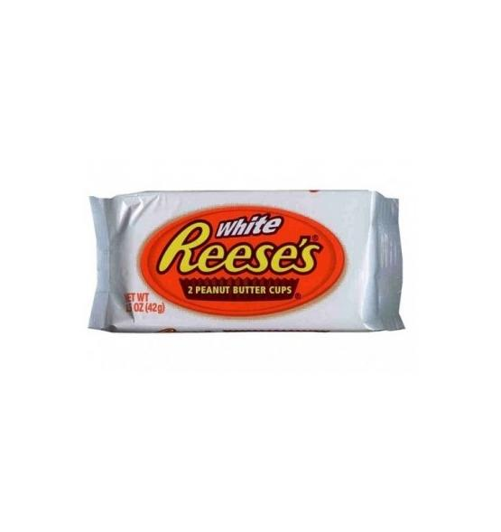 REESES 2 WHITE PEANUT BUTTER CUPS 42G