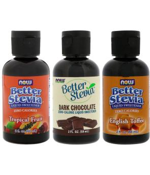 Stevia Edulcorante Líquido - (60 ml) - Now Foods Better