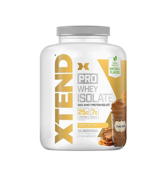 Xtend Pro Whey Isolate Cookie Butter 2kg - Scivation